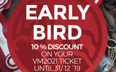 Ticket sales has started! Get your ticket with 10 % Early Bird Discount now!
