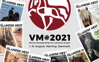 eMagasinet Islandsk Hest gibt das VM2021 Magazin heraus